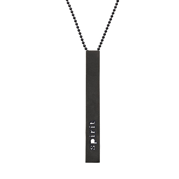 "RECTANGLE ""SPIRIT"" NECKLACE (LONG)"