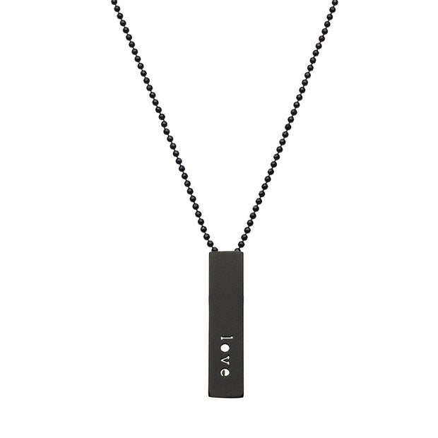"RECTANGLE ""SISTERS"" NECKLACE (SHORT)"