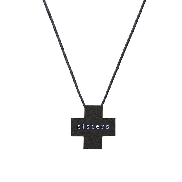 "PLUS ""SISTERS"" NECKLACE"