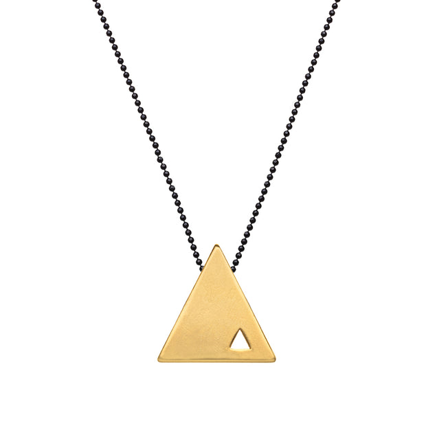 """TRIANGULAR"" SHAPE NECKLACE"