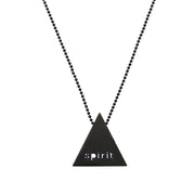 "TRIANGULAR ""SPIRIT"" NECKLACE"