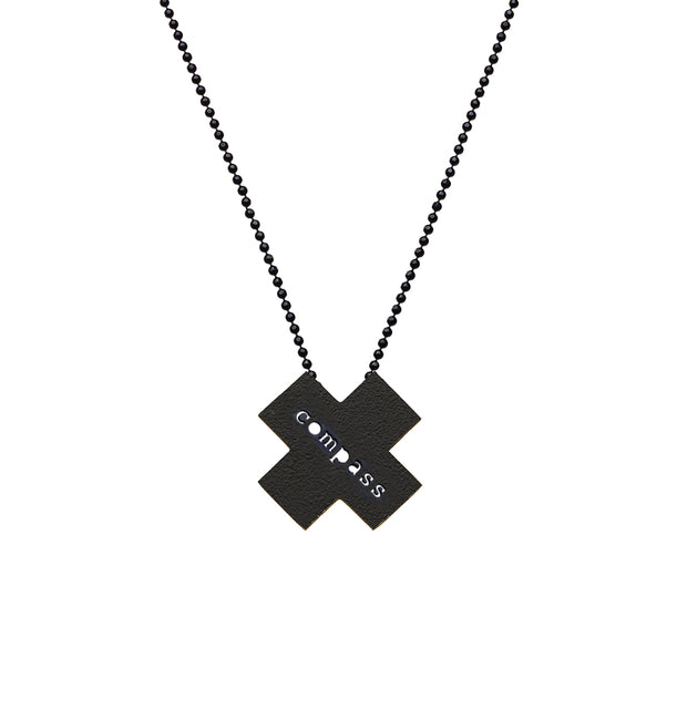 "X ""COMPASS"" NECKLACE"