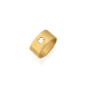 """X"" SHAPE RING"