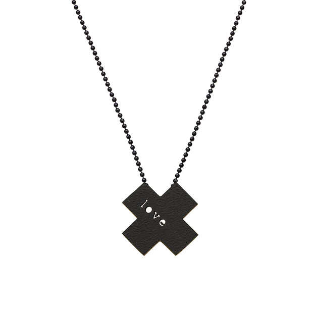 "X ""LOVE"" NECKLACE"