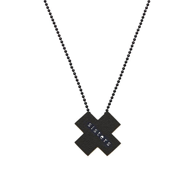 "X ""SISTERS"" NECKLACE"