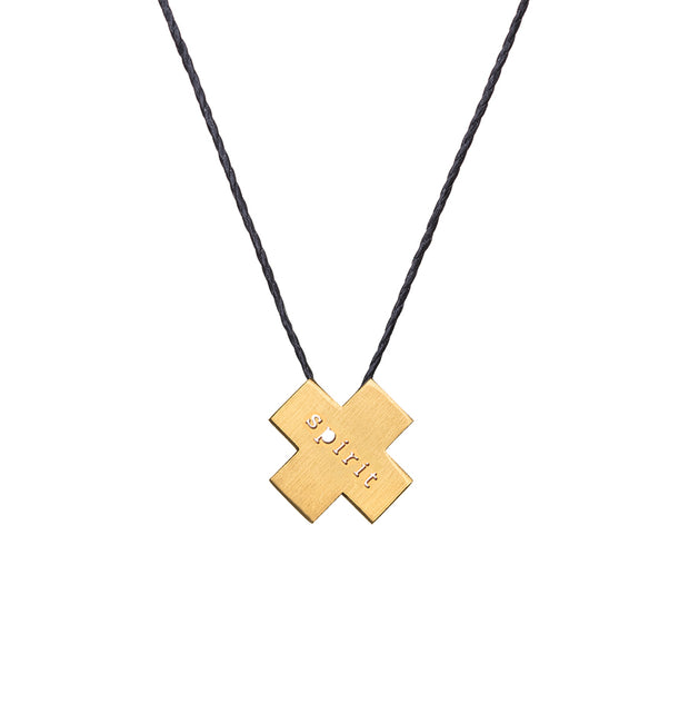 "X ""SPIRIT"" NECKLACE"