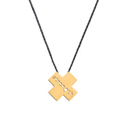 "X ""STRENGTH"" NECKLACE"