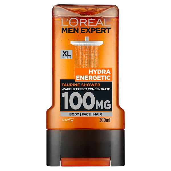L'Oreal Men Expert Hydra Energetic Body Face & Hair Gel 300ml