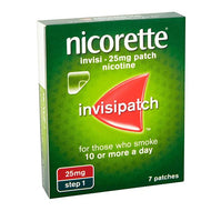 Nicorette Patch Invisible XS 25mg 7