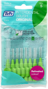 TePe Interdental Brush S5 0.80mm Green 8