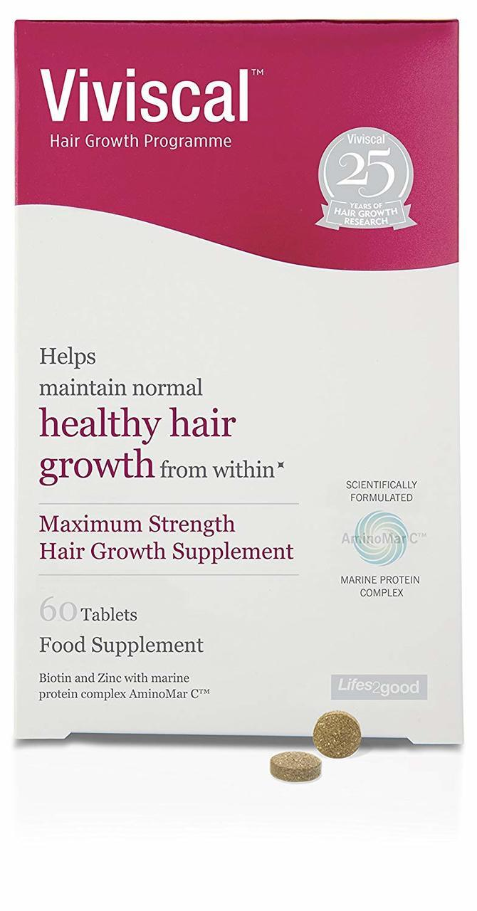 Viviscal Maximum Strength Hair Growth Supplement 60 pack