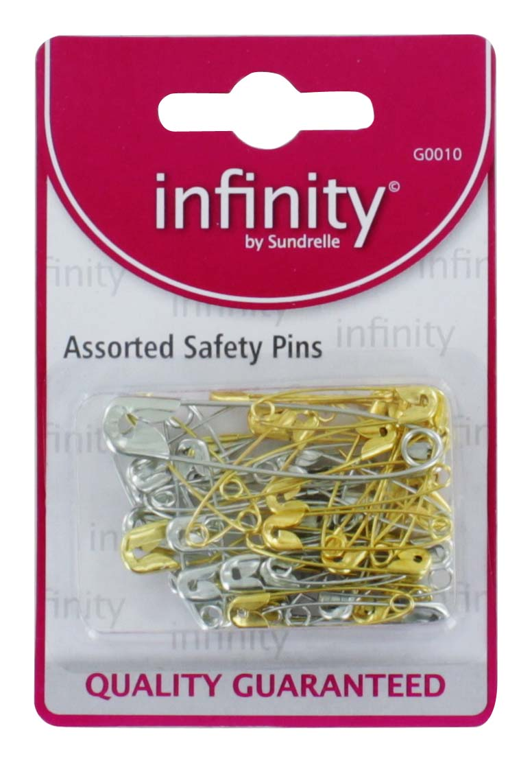 Infinity Assorted Safety Pins