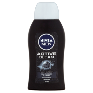 Nivea Men Active Clean Shower Gel 50ml