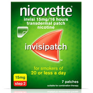 Nicorette Patch Invisible 15mg 7