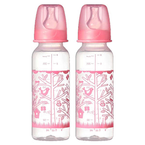 Tommee Tippee 3m+ Decorated Bottles Double Pack Pink