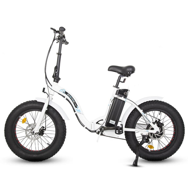 Ecotric Dolphin Portable Folding Fat Tire Electric Bike - My E-commerce Center