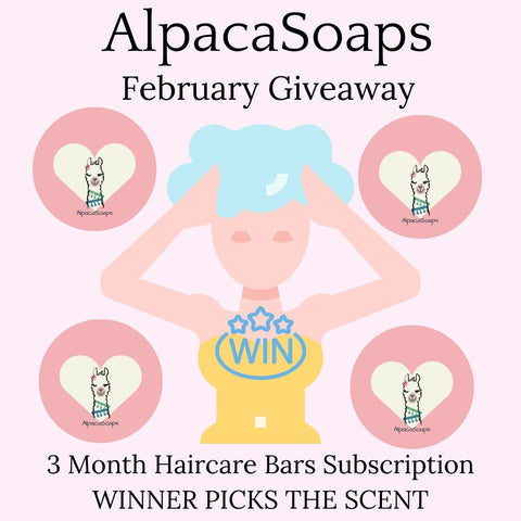 win 3 month subscription to a hair care combo