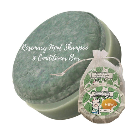 rosemary mint shampoo and conditioner bars