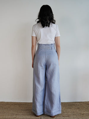 Johanna Pants 2.0 in Blue Fog