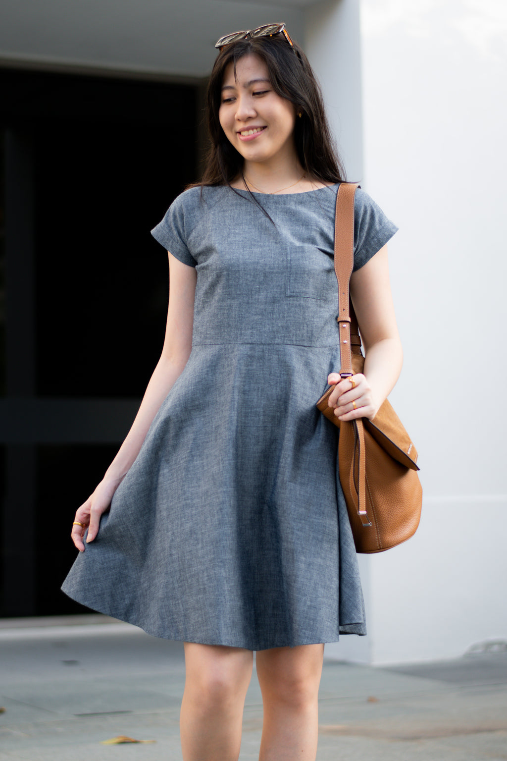 Liberty Dress - Chambray