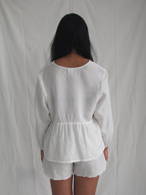 Byron Top - White