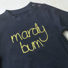 Load image into Gallery viewer, Mardy Bum Embroidered Baby & Toddler Sweater
