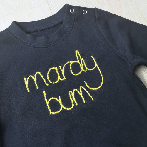 Mardy Bum Embroidered Baby & Toddler Sweater