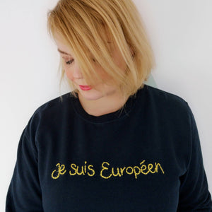 European Hand Embroidered Sweater
