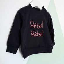 Load image into Gallery viewer, Rebel Rebel Hand Embroidered Sweater For Babies & Toddlers