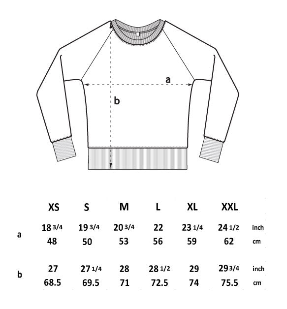 salvage sweat sizing