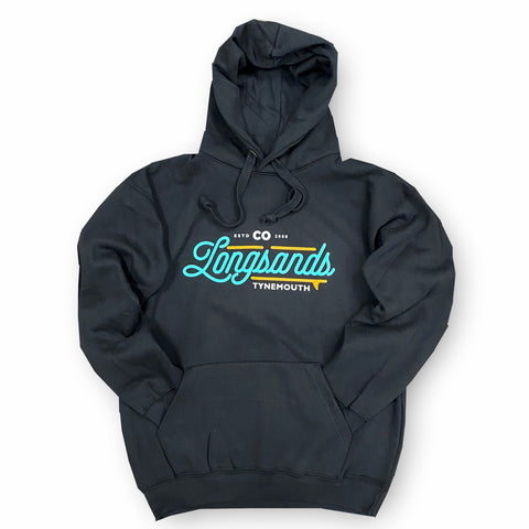 "Longsands ""2020"" Hoody - Black"