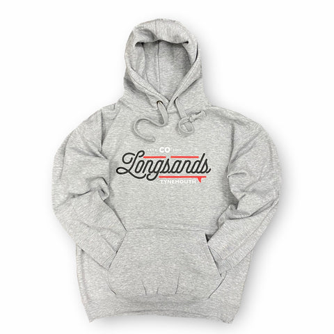 "Longsands ""2020"" Hoody - Heather Grey"