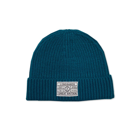 Ribbed Beanie - Teal