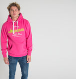 Longsands Classic Pull Over hoodie - Hot Pink