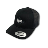Retro Trucker Cap - Black