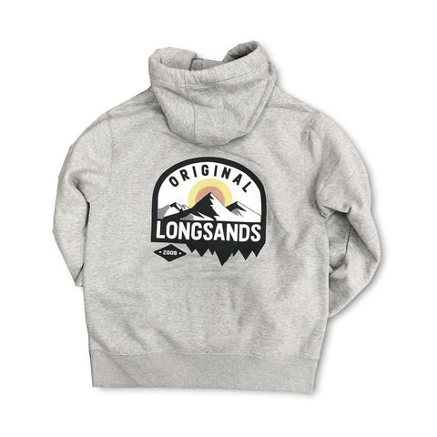Sunset Chunky Hoody - Grey