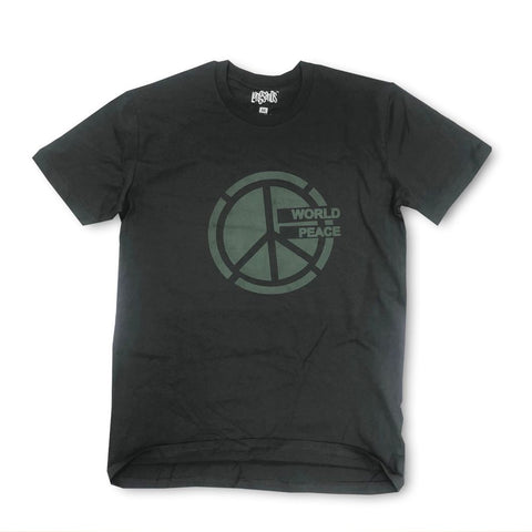 World Peace Tee - Charcoal