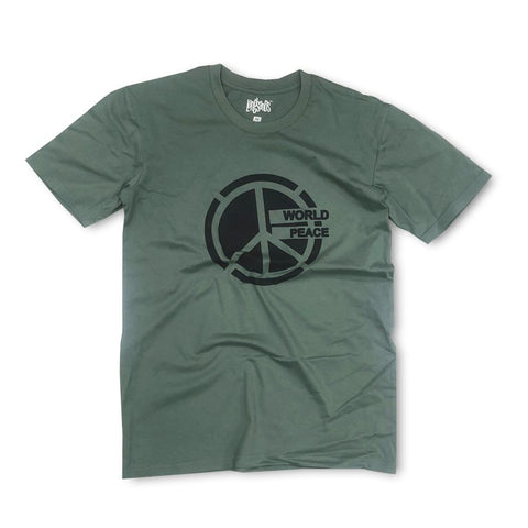 World Peace Tee - Sage