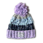 BABY Chunky knit beanie - Ultra Violet