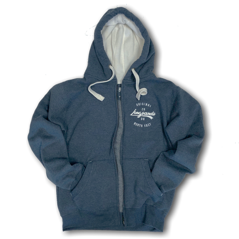 Base Zip Hood - Navy