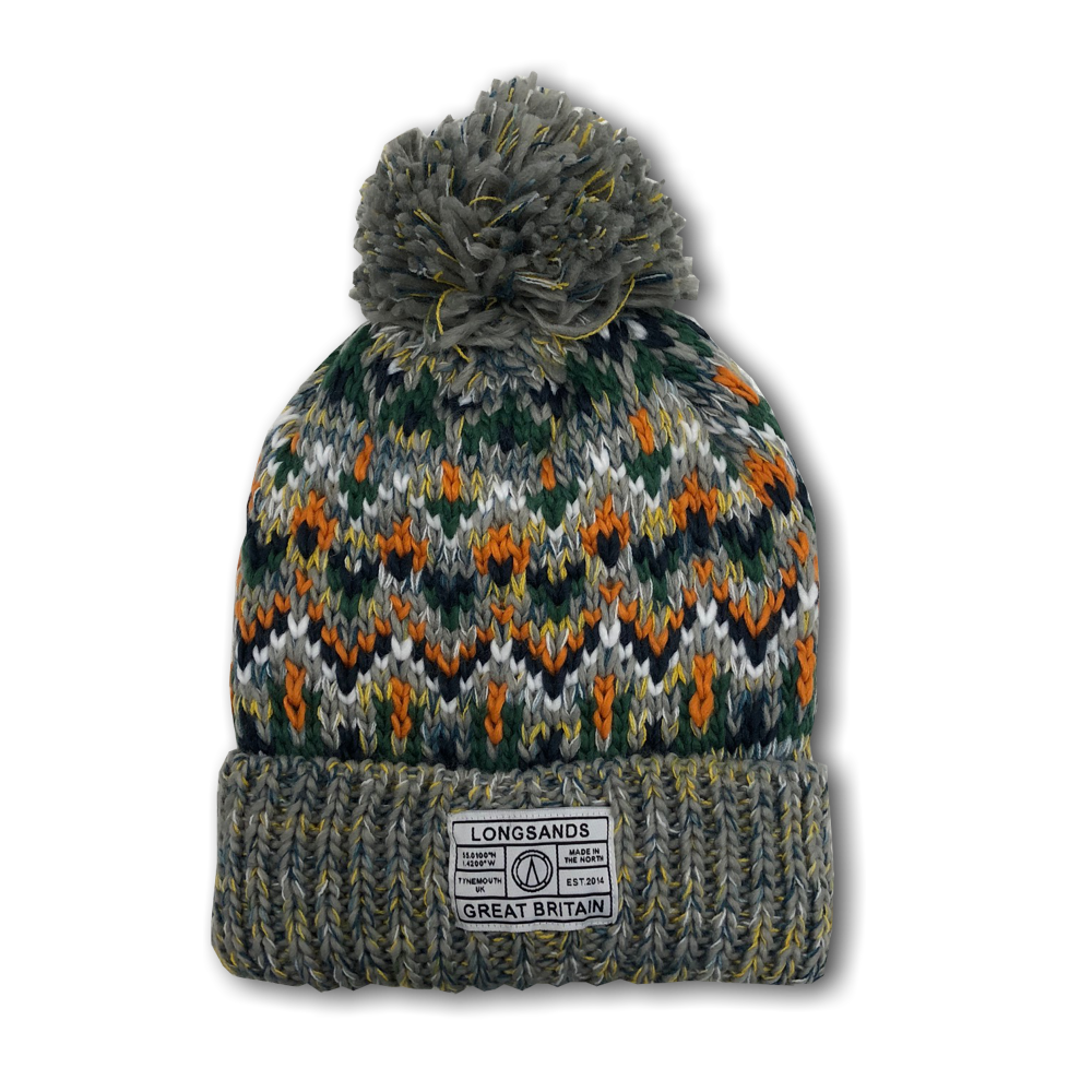 Alpine Knit Beanie - Orange – Longsands Clothing Co c2d61293b9e