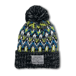Alpine Knit Beanie - Lime