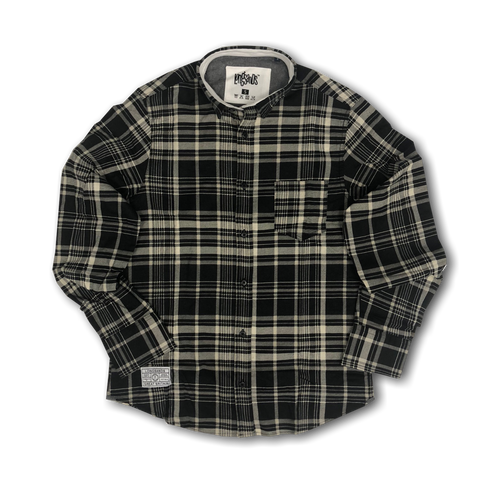 Black/Cream Check shirt