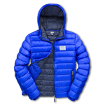 Hooded Pad Jacket - Royal