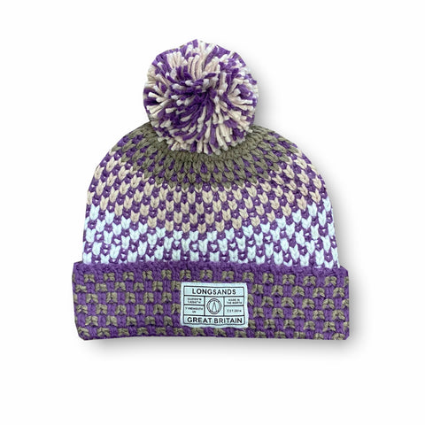 Adult Apres Beanie - Rose Smoke