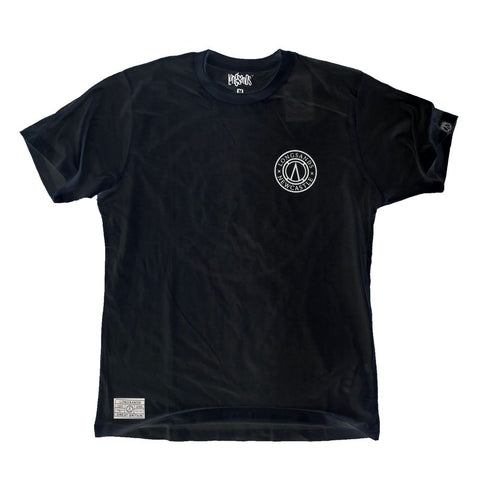 Black Newcastle Compass Tee