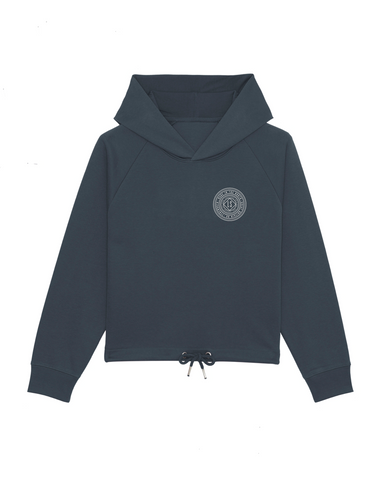 Womans Dreamcatcher Boxy Hoody - Ink