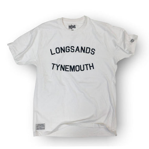 Longsands College Tee - White