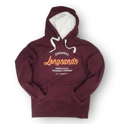 Longsands Classic Pull Over hoodie - Maroon