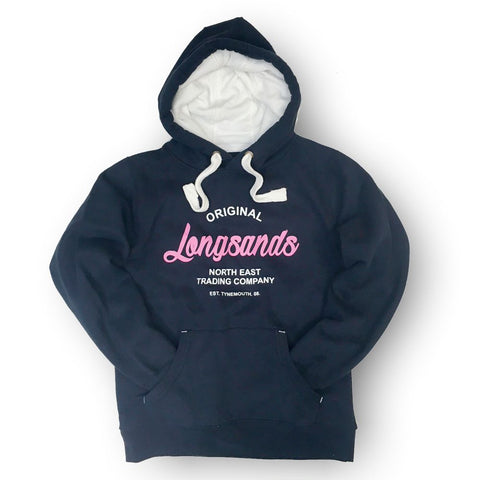 Longsands Classic Pull Over hoodie - Navy